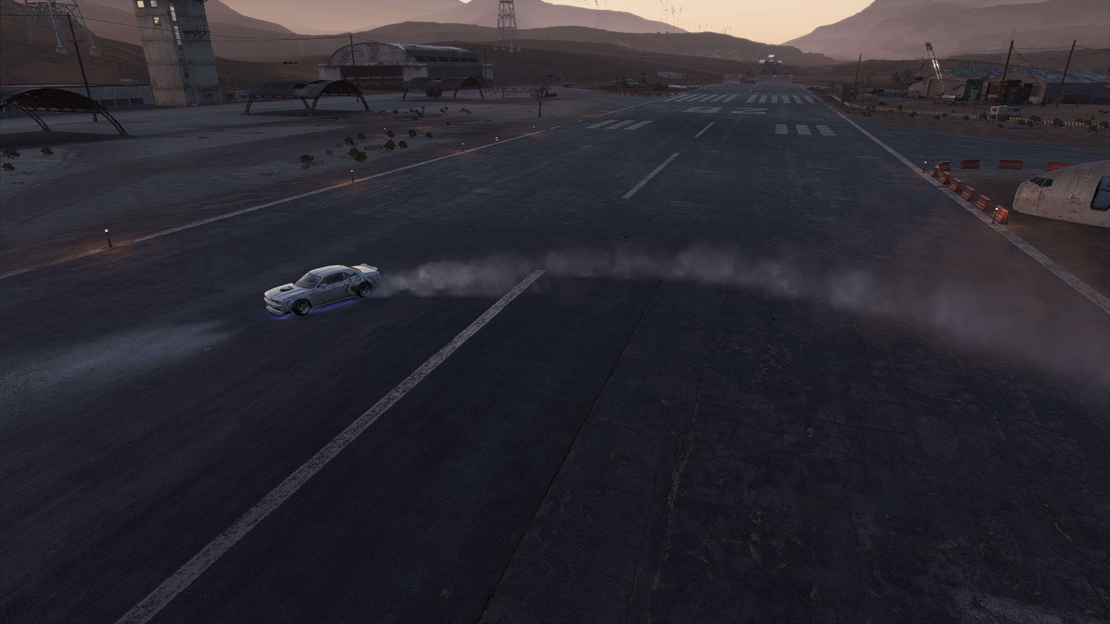 ニード・フォー・スピード ペイバック 放置車両のDODGE Challenger ...